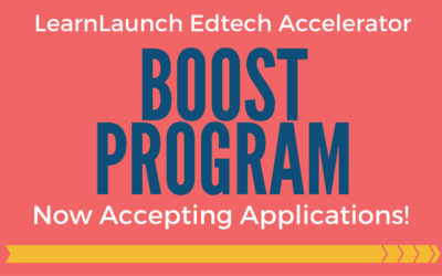 Applications Now Open for Accelerator BOOST Program