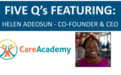 Breakthrough Cohort Feature: CareAcademy