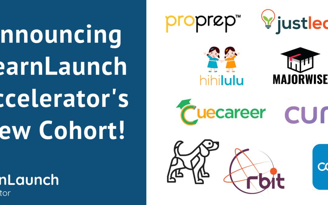 LearnLaunch Accelerator Announces Eighth Edtech Cohort