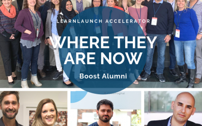 """Where They Are Now"" Boost Alumni"